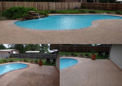 Power Wash your Pool